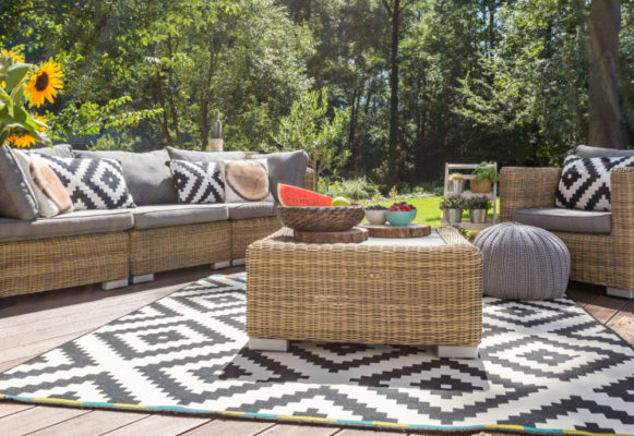 Outdoortrends 2018 Outdoor-Teppich