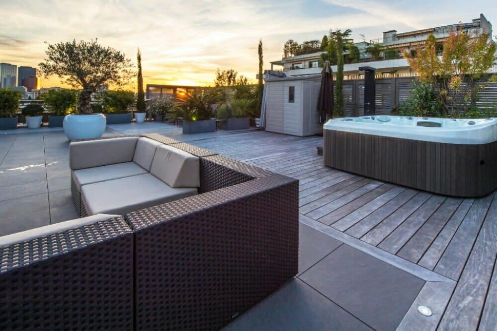 Outdoor Küche Dachterrasse : Esstisch höhe cm elegant luxus outdoor küche auf der