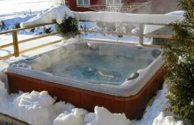 Pool Alternative - Jacuzzi Winter