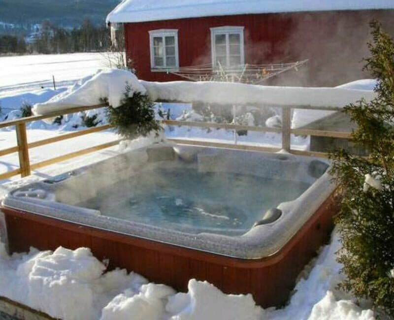 Pool Kosten - Whirlpool Winter Spadeluxe