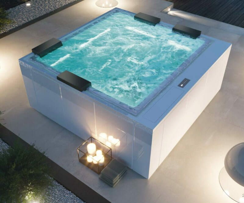 Treesse Phantom Outdoor Whirlpool - Spadeluxe