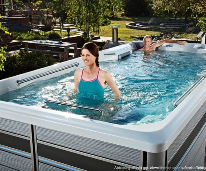 Spadeluxe - Endless Pools E700 2 Personen