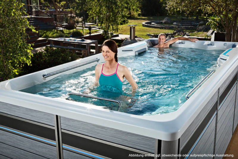 Spadeluxe - Endless Pools Swim Spa E500 Laufen