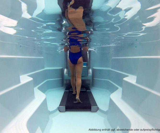 Spadeluxe - Endless Pools Swim Spa E500 Unterwasserlaufband