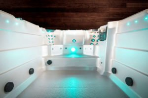 Swim Spa Vortex Aquagym Innenraum