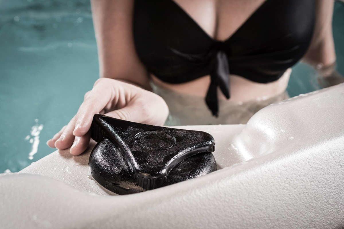 Swim Spa Vortex Aqualap Einstellung