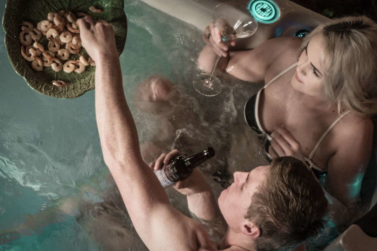 Swim Spa Vortex Aqualap Party