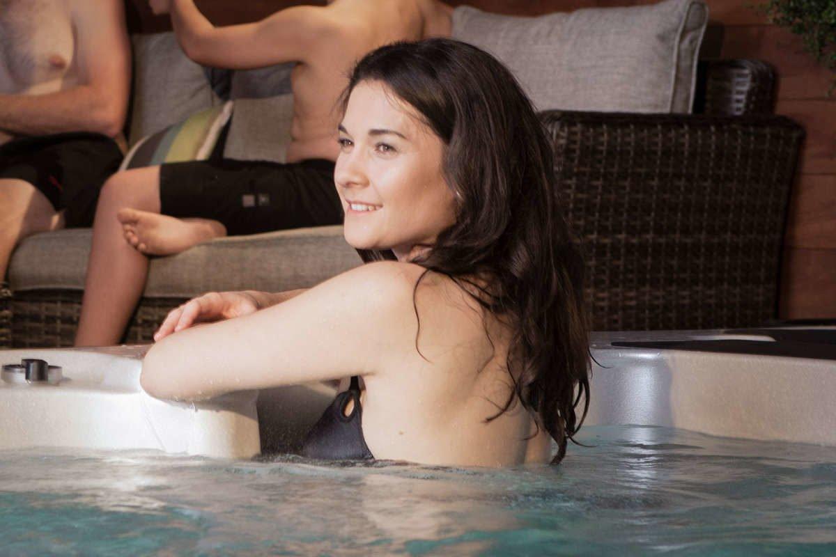 Swim Spa Vortex Hydrozone Entspannung