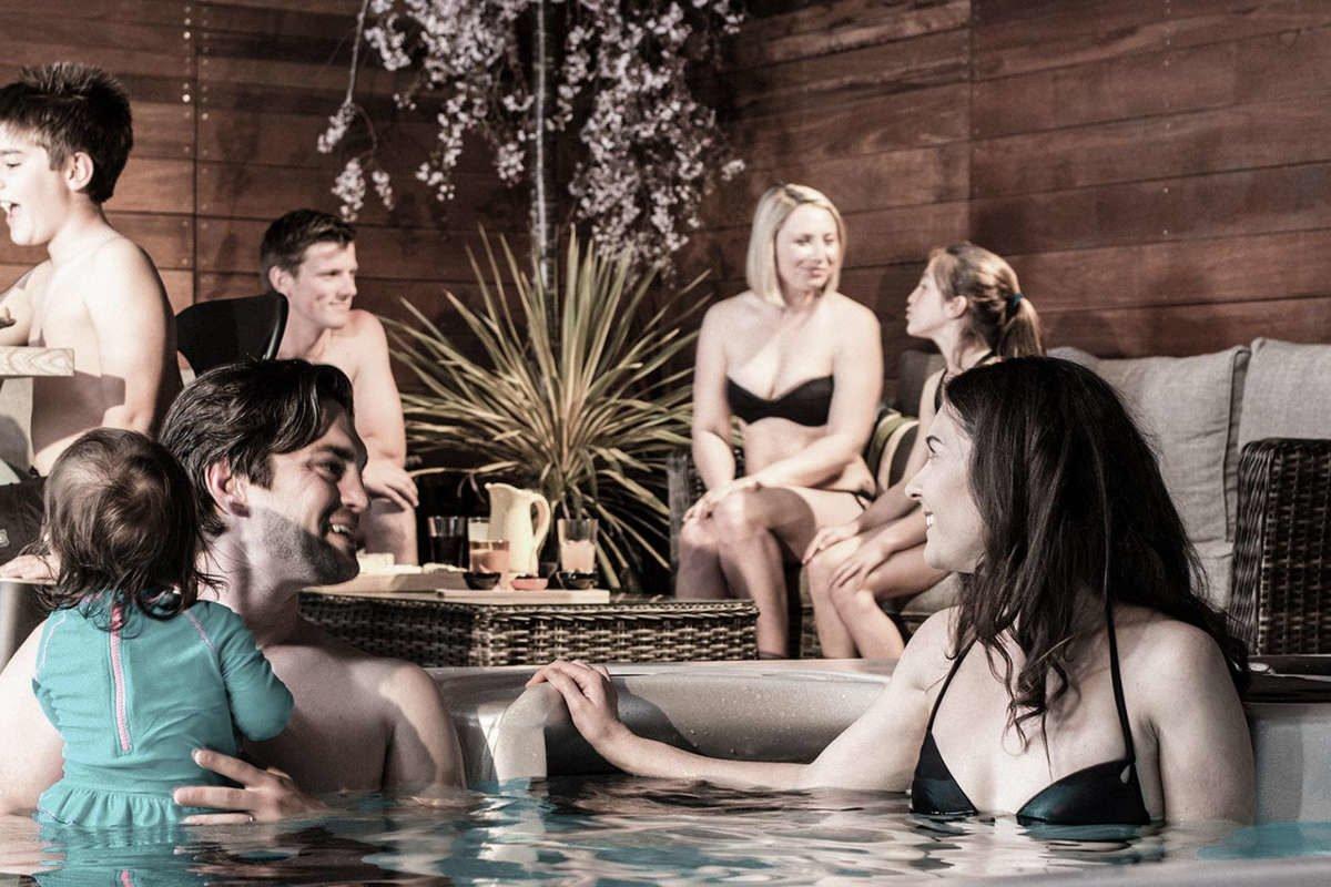 Swim Spa Vortex Hydrozone Terrasse