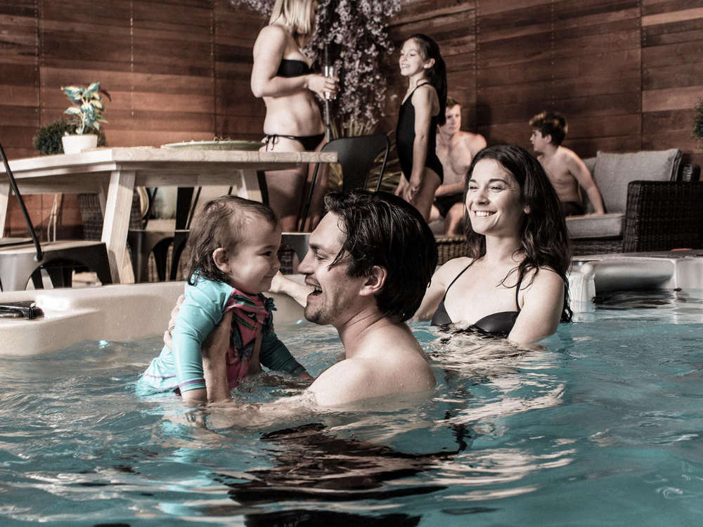 Vortex Hydrozone Swim Spa mobil