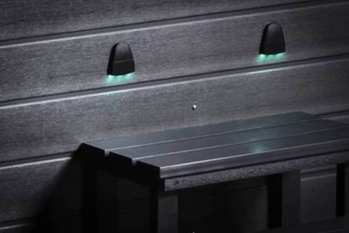 Whirlpool Vortex Neon Außenbeleuchtung