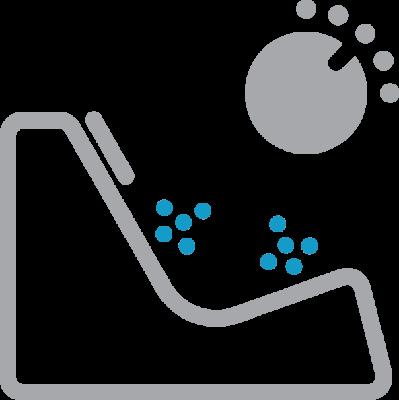 individuelle druckkontrolle der Sitze