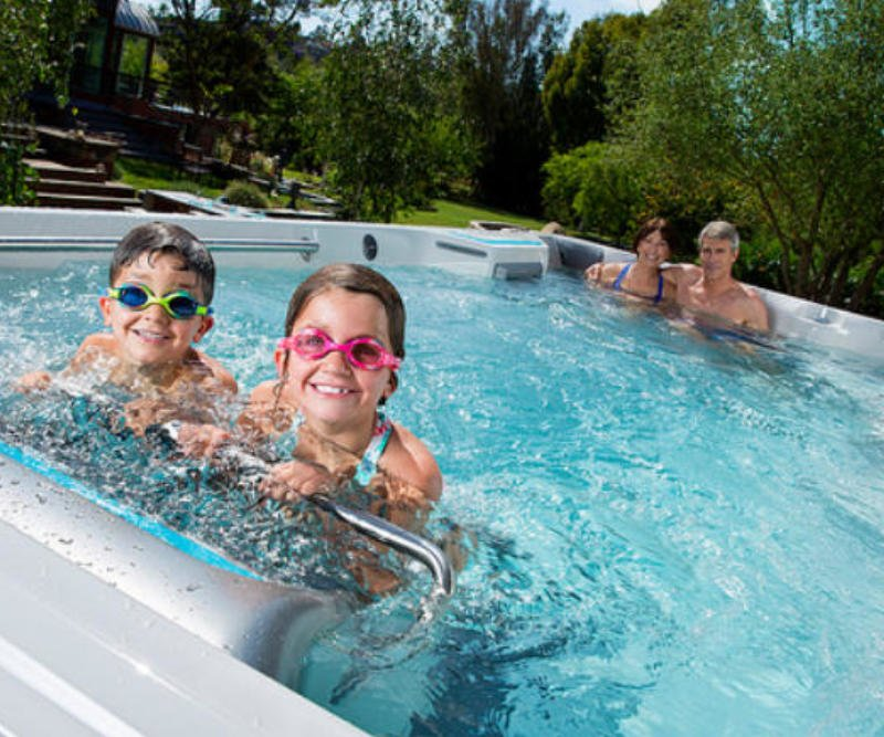 Swim Spa Alternative zu Pool Kosten