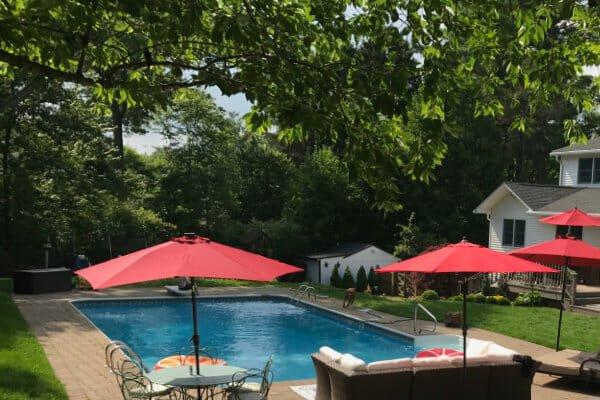 Swimmingpool im Garten Kosten