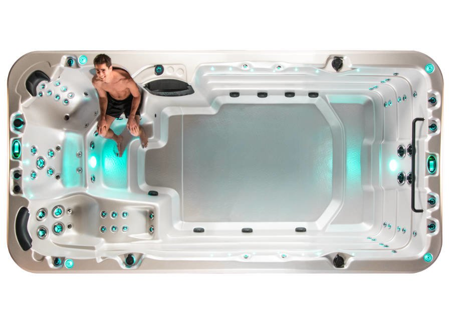 Vortex Swim Spa Aquagym Max Rückenmassage 1