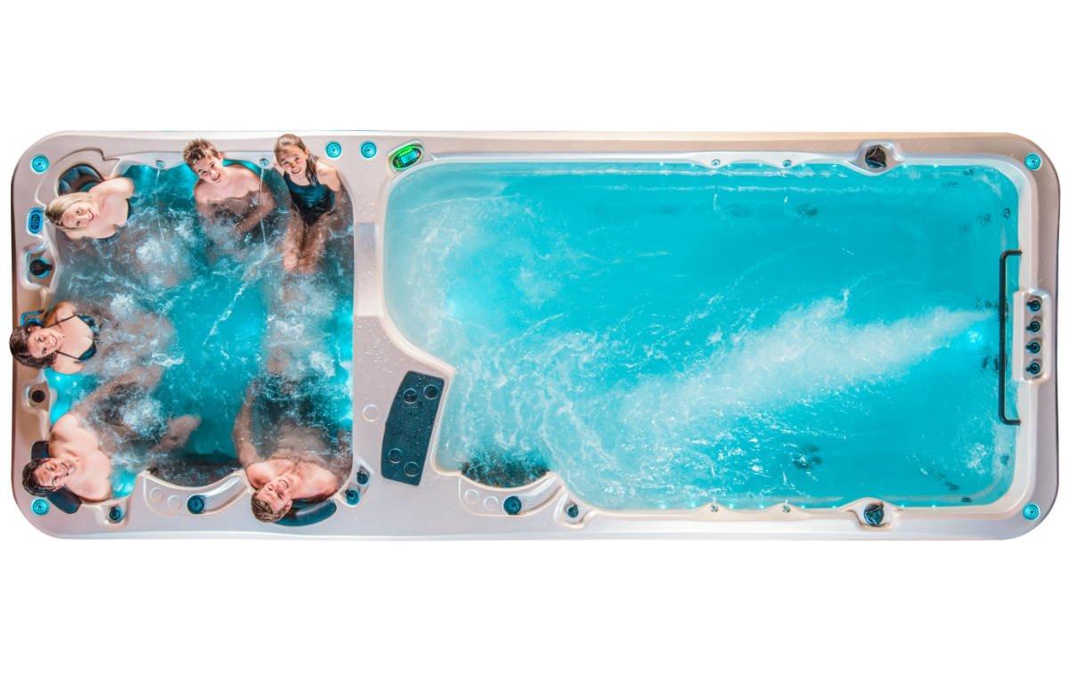Vortex Swim Spa Hydrozone Sitzplätze