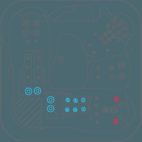 vortex cerium jet layout