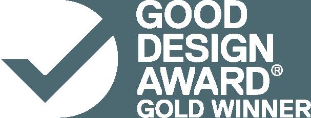 Good Design Award Gold Auszeichnung Vortex ikon