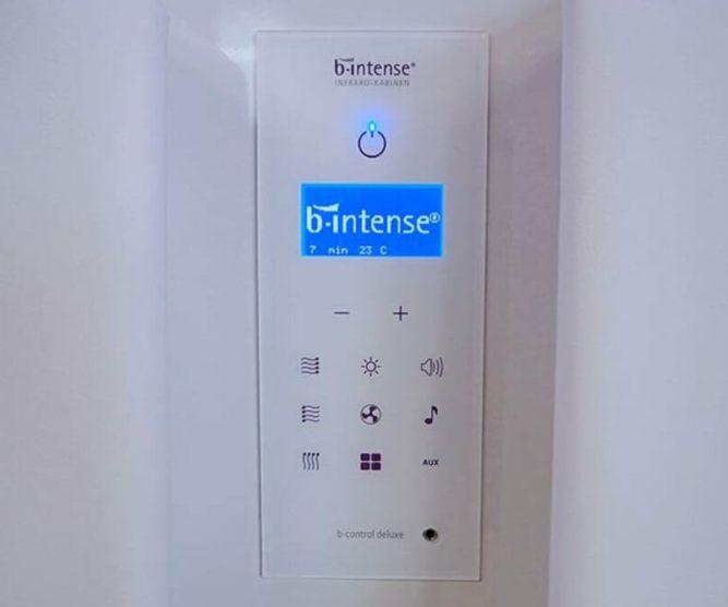 b-intense 1 Steuerung
