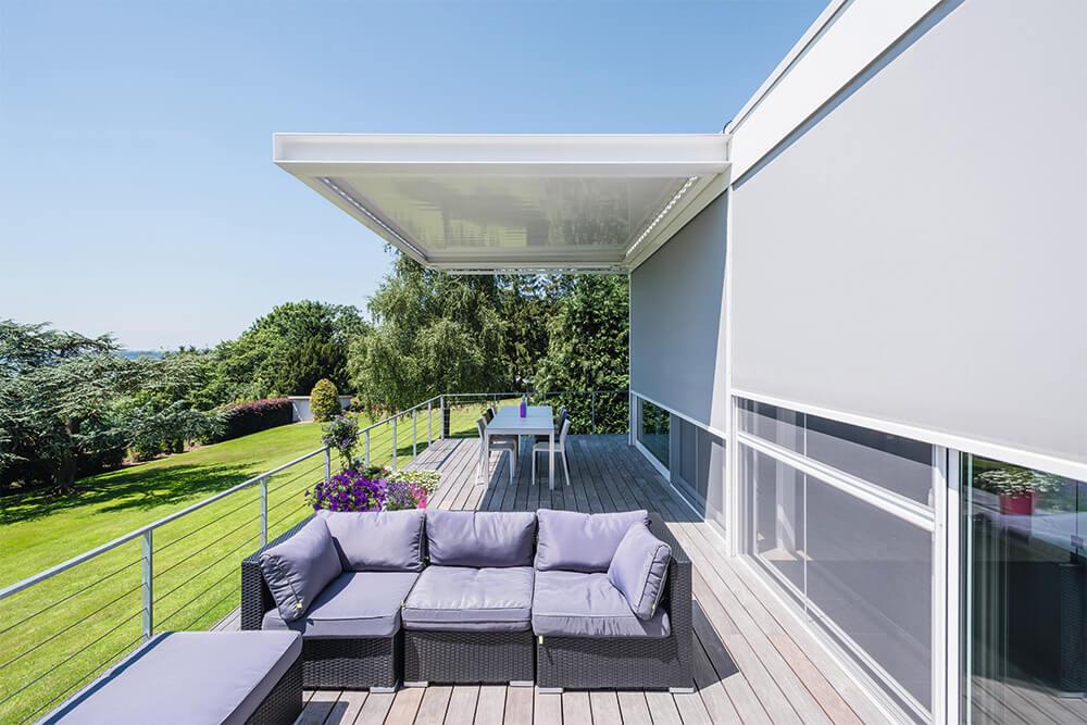 Renson Aero lamellendach terrassenüberdachung1