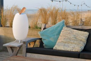 Outdoor Trends 2020 - Hygge-Design Stehlampe